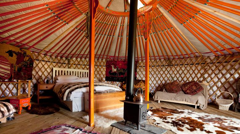Glamping Hütte in Schottland credit Visit Scotland