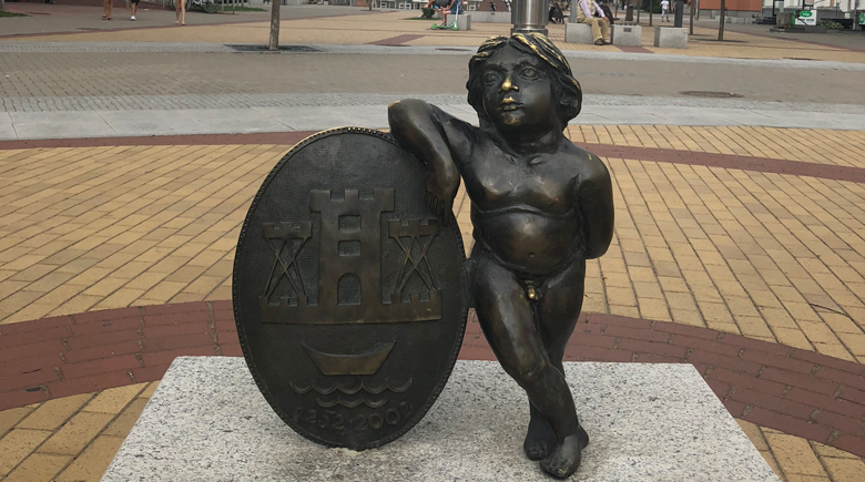 Statue Klaipeda