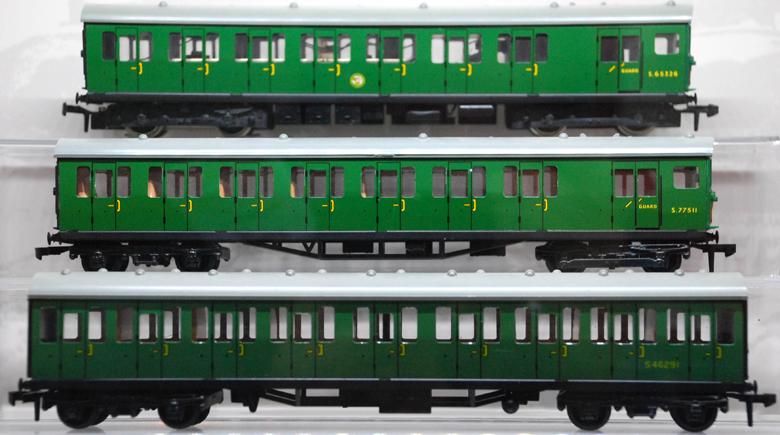 grüne Hornby Züge in Margate