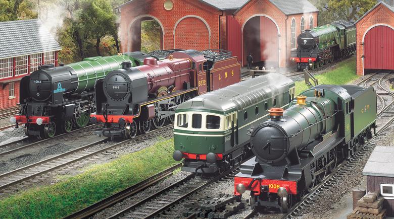 Hornby Züge in Margate