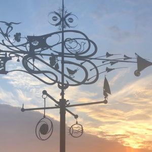 Statue Klaipeda Wind