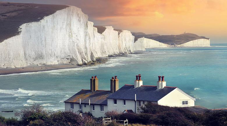 Kreidefelsen in England