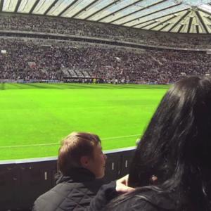 Im Stadion von Newcastle United