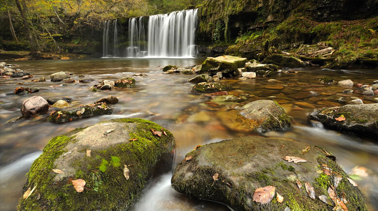 Herbst im Brecon Beacons National Park