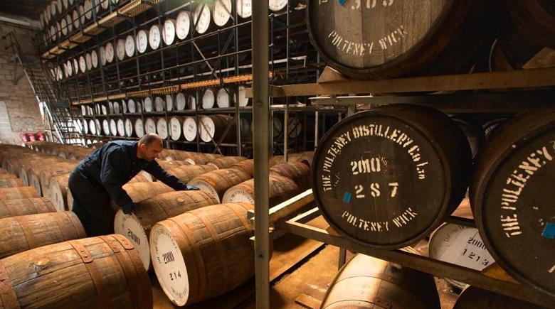 Whisky Brennerei in Schottland