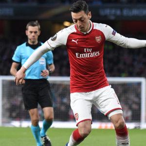 Mesut Özil beim Spiel
