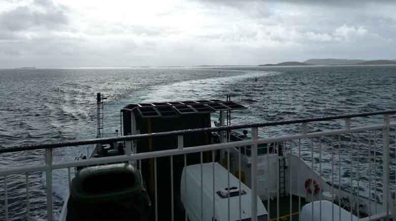 Passage nach North Uist