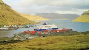 2015 Princess Seaways auf den Faröer Inseln