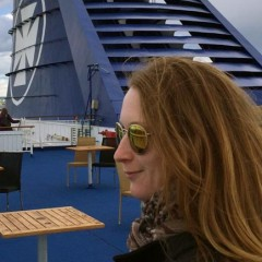 An Bord der CROWN SEAWAYS