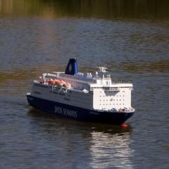 Eine echte Schönheit: Schiffsmodell PRINCESS SEAWAYS