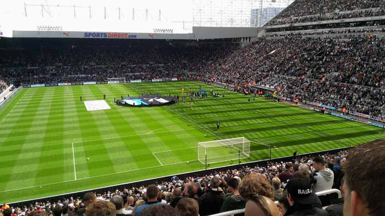 St. James' Stadium - Heimatstadion von Newcastle United