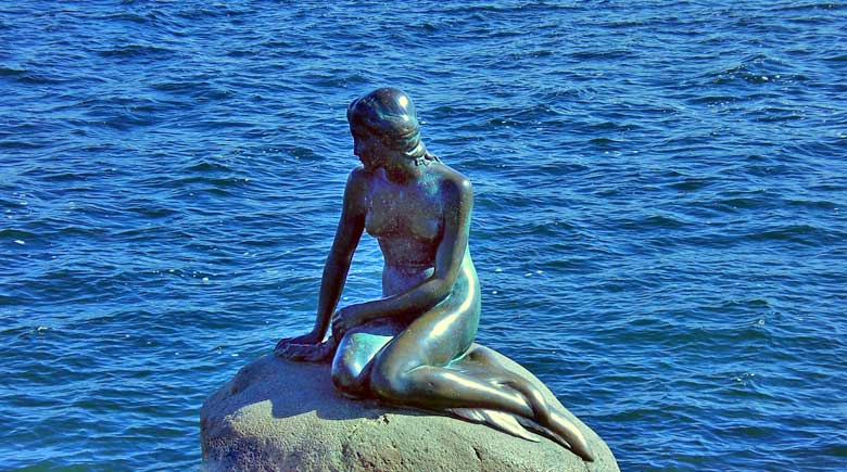 Die kleine Meerjungfrau - Wahrzeichen von Kopenhagen