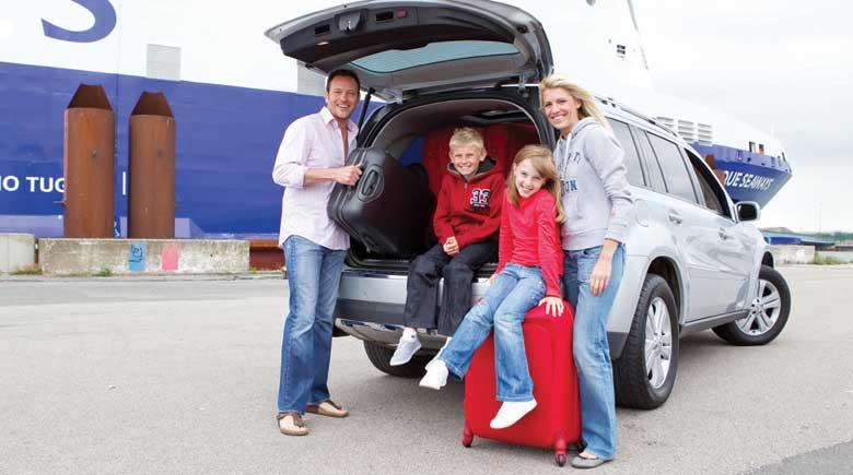 Gepäck im Auto - Auf der Fähre kein Problem