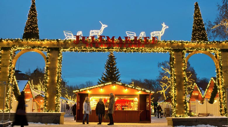 Weihnachtsmarkt in Oslo © CH - Visitnorway.com