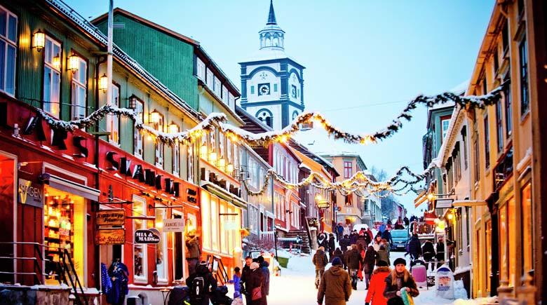 Weihnachten in Røros © Thomas Rasmus Skaug - Visitnorway.com