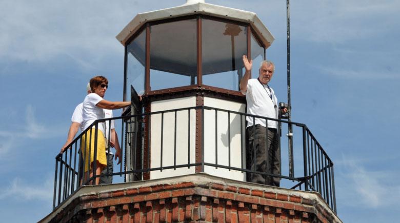 Aussichtsplattform vom Leuchtturm in Vente
