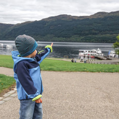 Loch Lomond in Tarbet