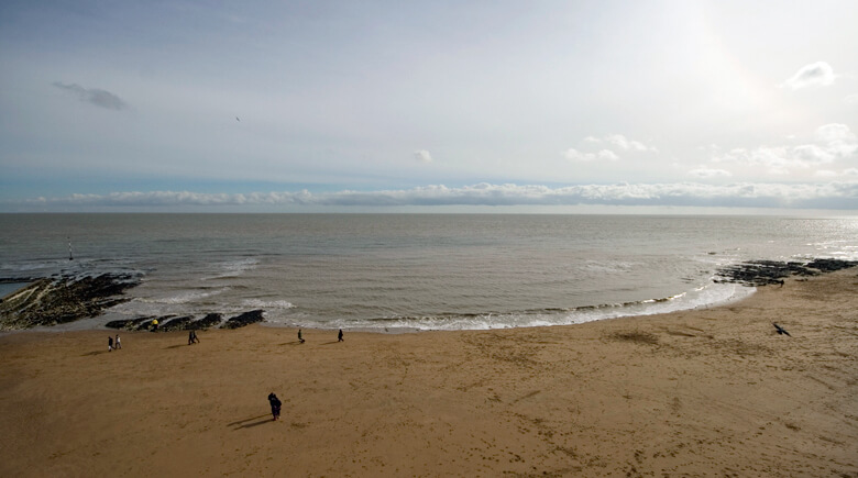 Strand in Broadstairs
