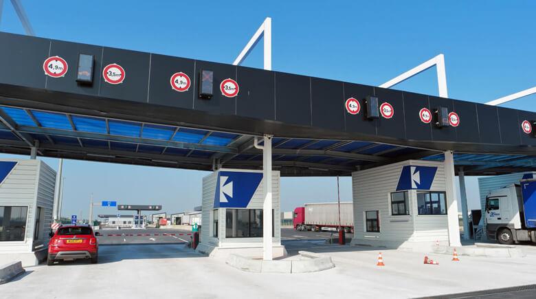 Neuer Fahrzeug Check-in in Dünkirchen