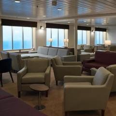 Premium Lounge auf der Fähre nach Dover