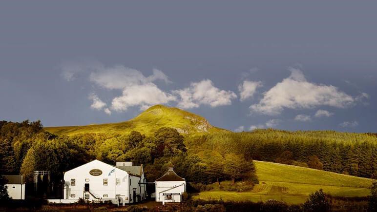 Destillerie Glengoyne am Highland Way © Udo Haafke