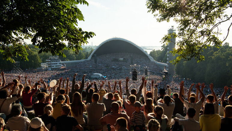 Die baltischen Staaten: Song Festival Credits VisitEstonia