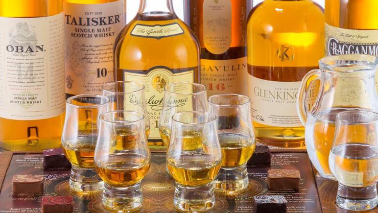 Schottische Whisky Sorten Verkostung © Udo Haafke