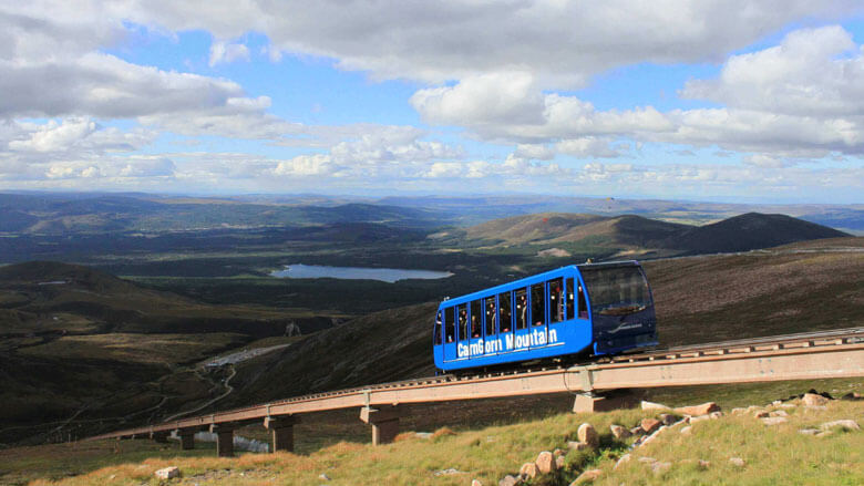 Cairn Gorm Mountain Railway Foto: Natural Retreats