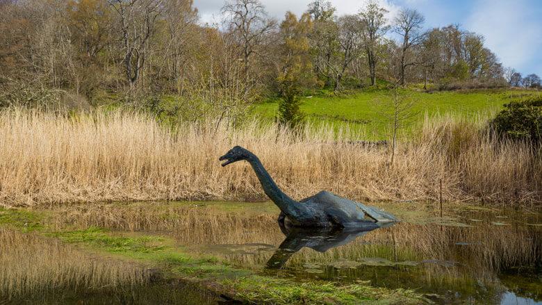 Nessie Atrappe im Loch Ness; Foto: Visit Scotland