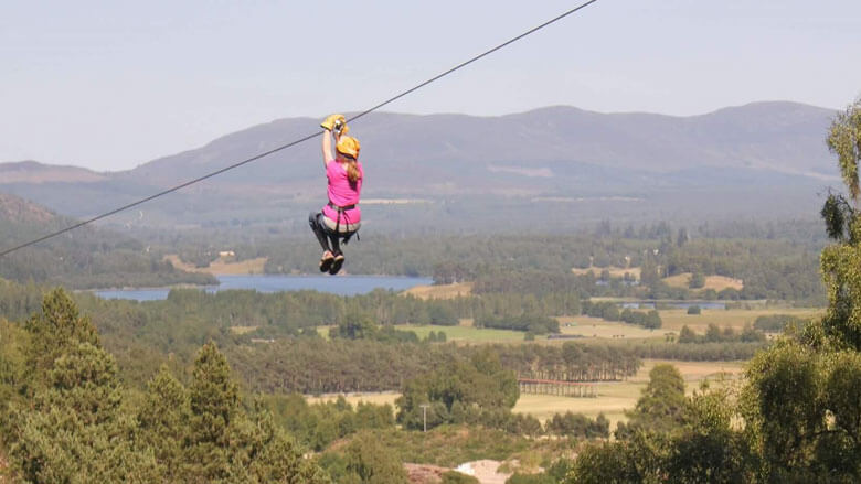 Adventure Park Seilbahn; Foto: G2Outdoor