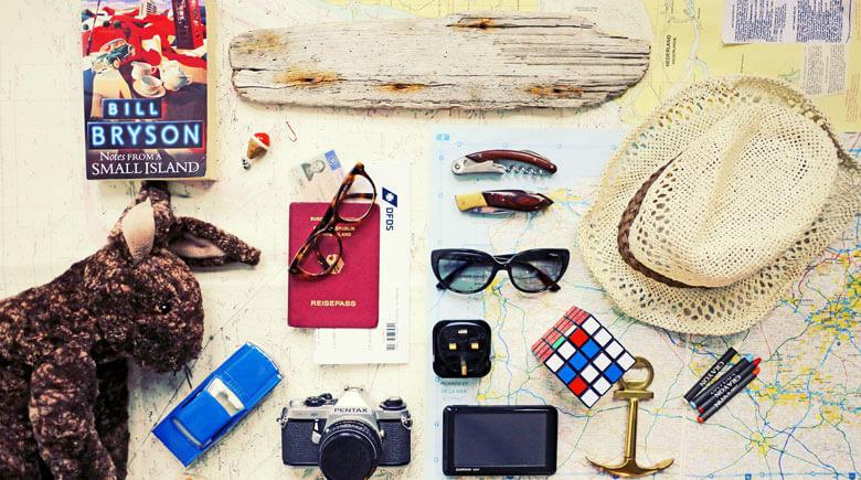 Checkliste für den Urlaub - Überblick
