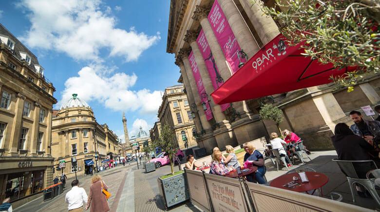 Innenstadt von Newcastle