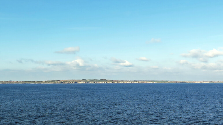 Newcastle von See © Marten Suhre