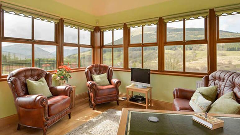 Ferienhaus in Lochearnhead Wohnzimmer © TUI