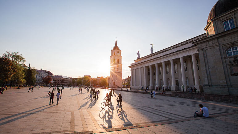 Vilnius Katedrale © Lithuania Travel