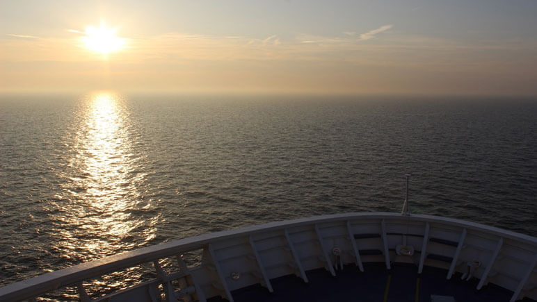 Aussicht Nordsee © DFDS