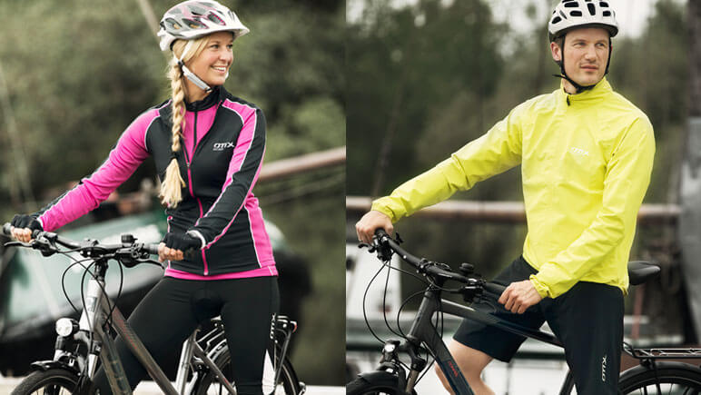 Radfahrer Funktionsbekleidung © B.O.C.