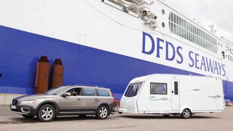 Fahrzeugmaße © DFDS