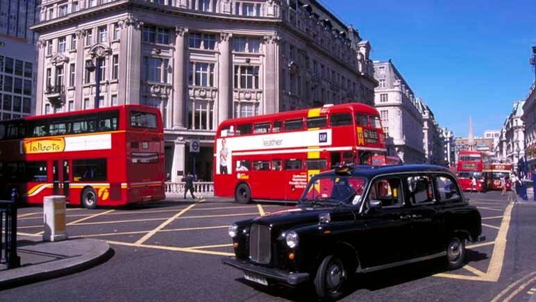 In London mit dem Auto © VisitBritain