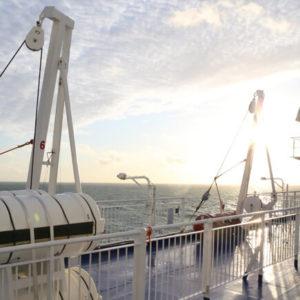 Aussenansicht Amsterdam Newcastle © DFDS