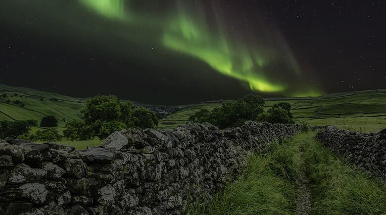 Outdoor in Schottland - Nordlichter