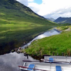 Mit dem Boot in Schottland unterwegs