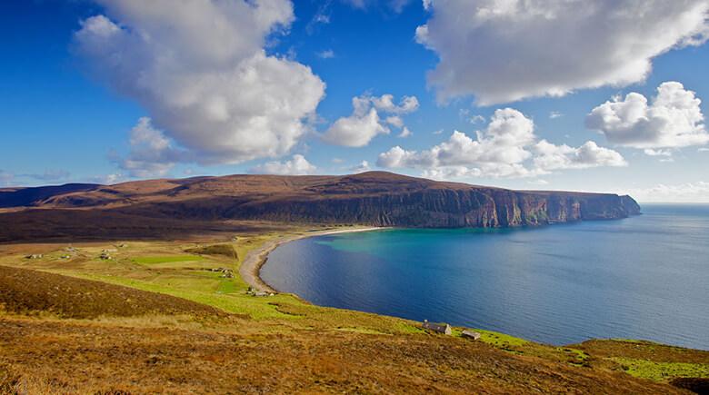 Outdoor in Schottland - Küste