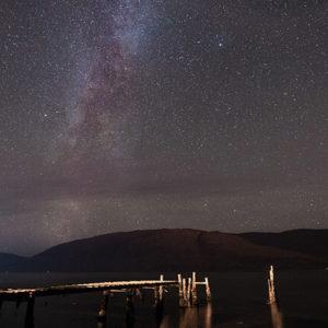 Sternenhimmel in Schottland