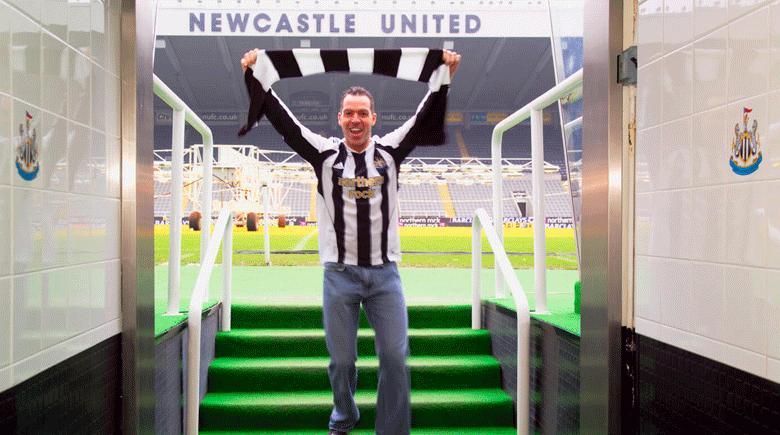 Newcastle St. James Park Stadion credit Visit Britain