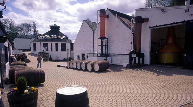 Whisky Destillery in Schottland