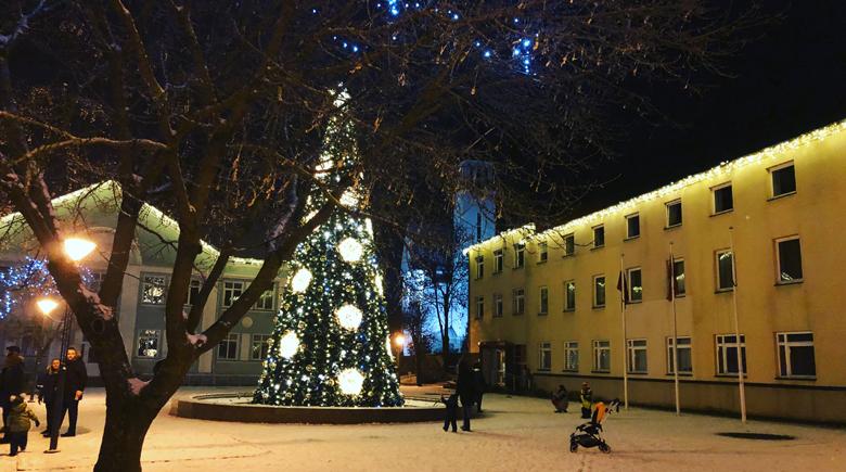 Weihnachtsbraum in Klaipeda