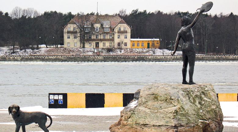 Winterliches Klaipeda