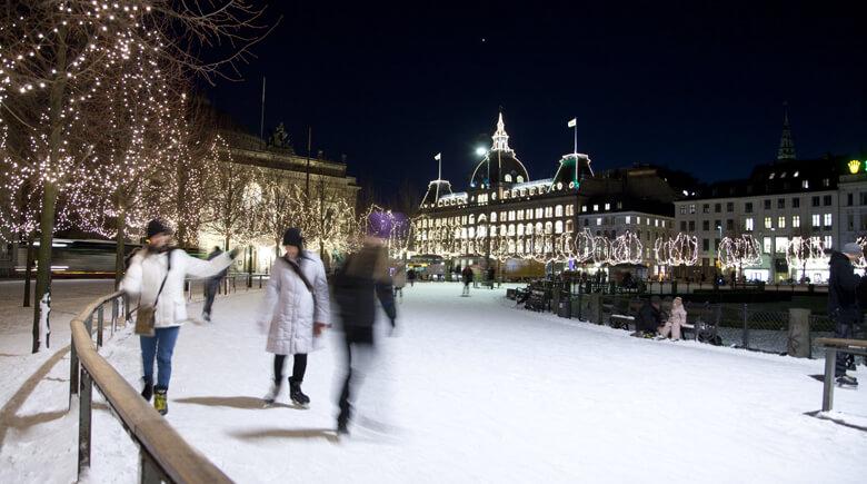 Eislaufen in Kopenhagen