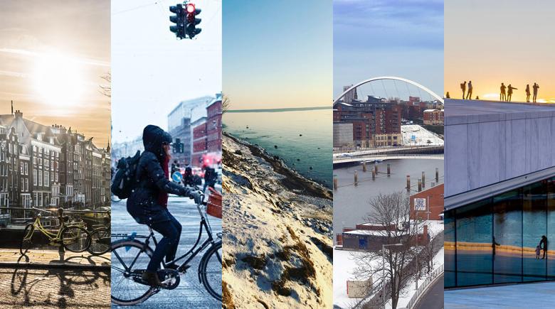 Top 5 Städte im Winter
